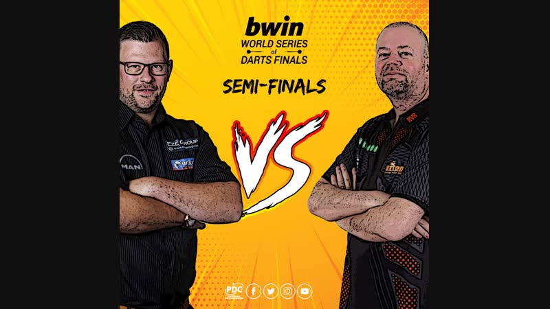 2018 World Series of Darts Finals Semi Final Wade vs van Barneveld