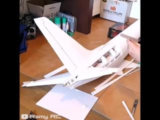 Создание модели Boeing 737 MAX 8