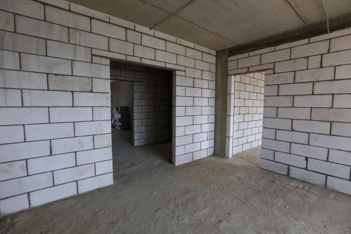 несущая стена в доме из газобетона