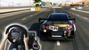 Forza Motorsport 7 - Nissan GT-R Black Edition 2012 w/ Steering Wheel Gameplay