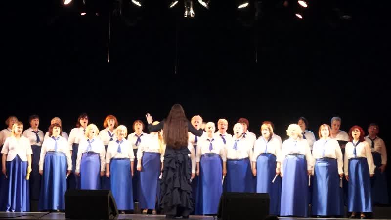 хоровая студия Приморочка исполнили песню Джаз в стиле босса нова