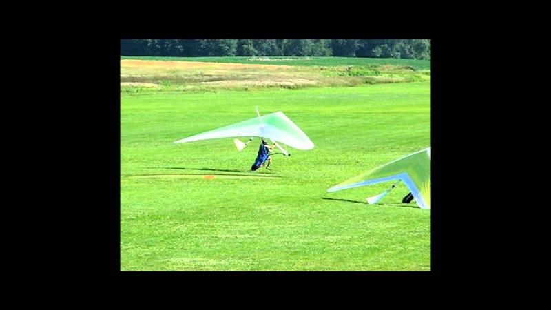 LANDINGS B Hang Gliding Cloud 9 Michigan. Part Two:
