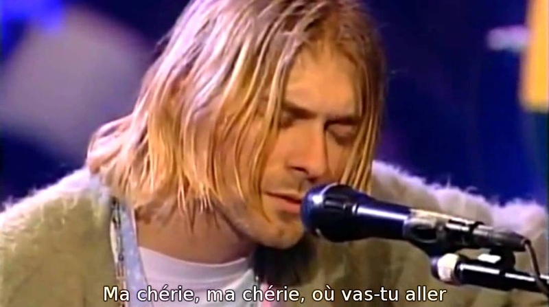 Nirvana - Where Did You Sleep Last Night (Sous Titres Fr)