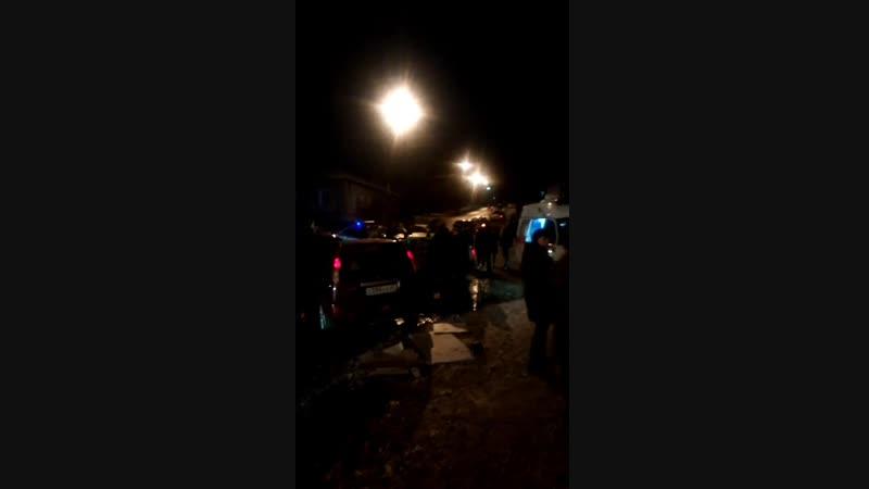 Тройное ДТП с участием двух иномарок и отечественного авто случилось в Рославле