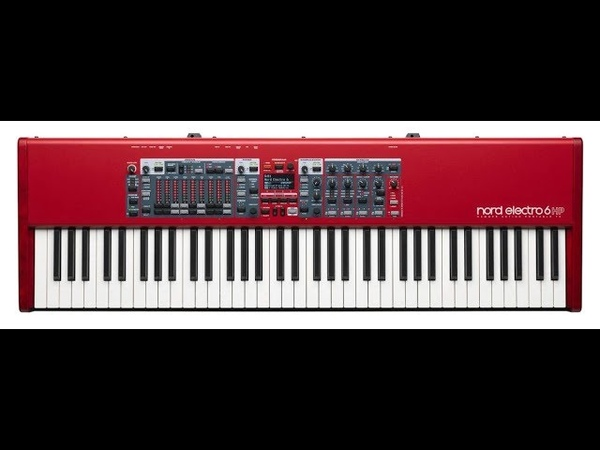 Nord Electro 6 HP 73-Note Hammer Action Stage Piano Bundle Review