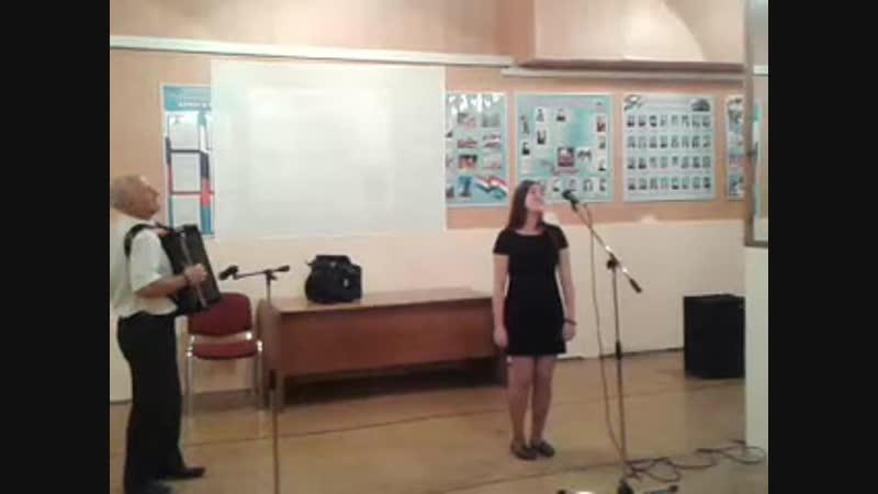 Самарские припевкиисполняет Резванова Динара, конц. преподаватель Данилин И.Ф._Концерт День музыки
