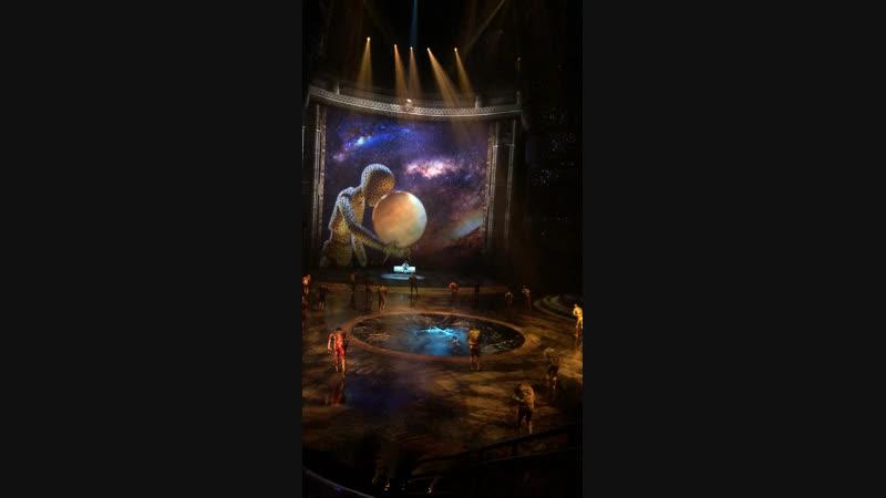 Аква шоу Ла перла в Дубае