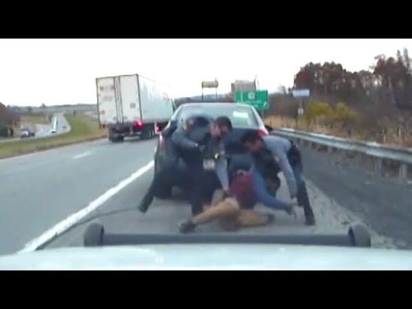 WARNING Pennsylvania State Police Shootout (Gracie Breakdown)