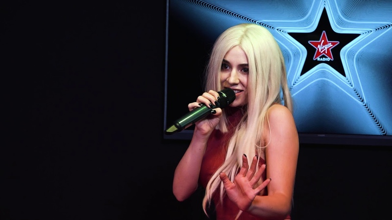 Ava Max Sweet but Psycho Live @ Virgin Radio Romania