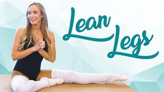 Lean Ballerina Legs with Kat! 15 Minute Ballet Workout for Inner Thighs & Glutes