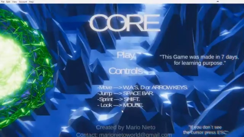 Core | itch.io | marionieto.itch.io/core