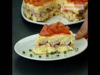 Любимый салат моего мужа! После того как вы его попробуете, вы поймете почему!