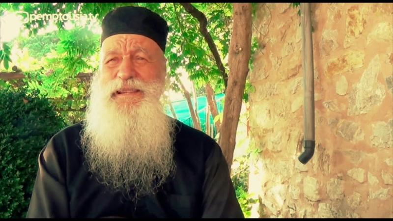 Старец Даниил. О видении ангелов и духовной брани на Афоне