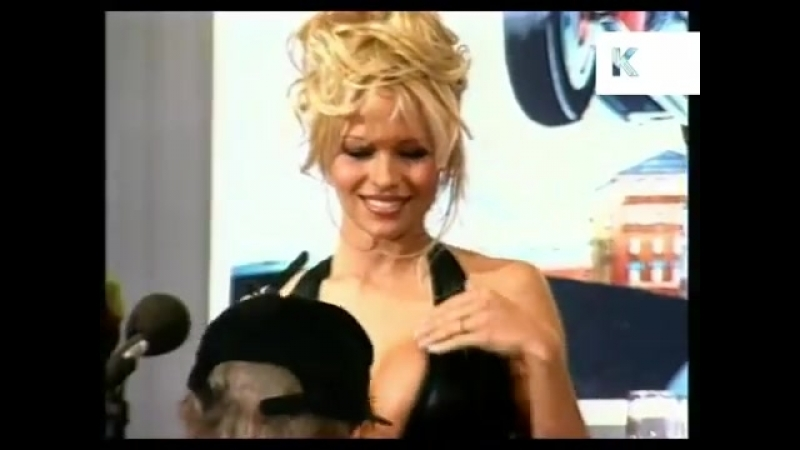 Cannes 1995, Pamela Anderson Barb Wire Press Call