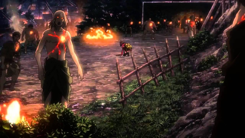 Koutetsujou no Kabaneri - Mumei Clearing The Way (Fighting the Kabane) [HD]