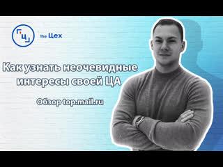 Как узнать неочевидные интересы своей ЦА. Обзор top.mail.ru