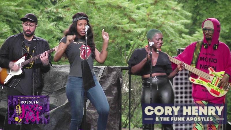 Rosslyn Jazz Festival Cory Henry The Funk Apostles (2018)