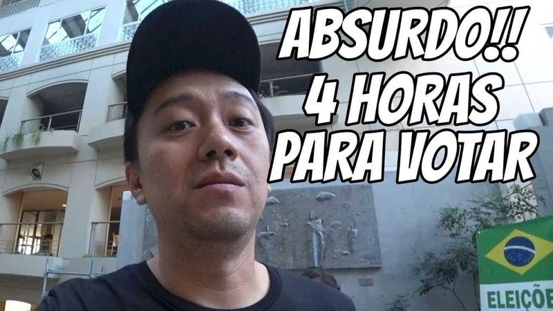 UMA FALTA DE RESPEITO NAS ELEIÇÕES 2018 NO JAPÃO