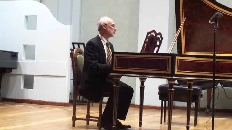 Бах Хорошо темперированный клавир т II Прелюдия и фуга Ла мажор Дм Зубов