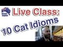 Live Class 10 Cat Idioms Learn Australian English