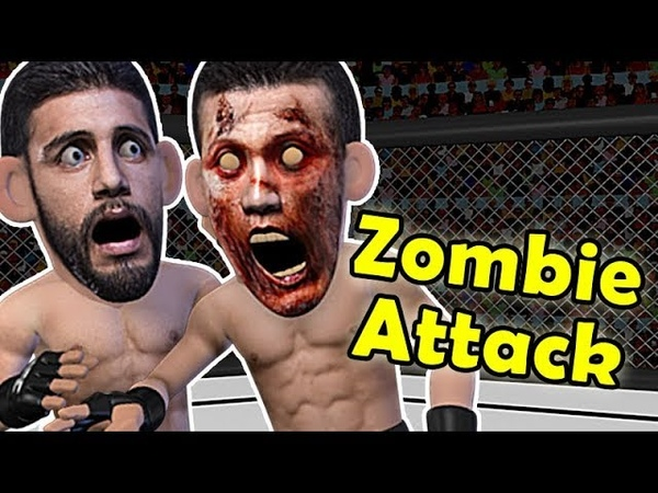 EPIC elbow KO - Korean Zombie VS Yair Rodriguez