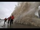 Vídeos incríveis do PIOR TUFÃO DA ÁSIA.