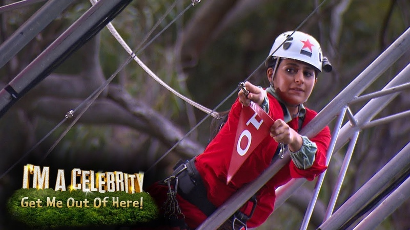 John and Sair Step Up to the Edge | I'm a Celebrity...Get Me Out of Here!
