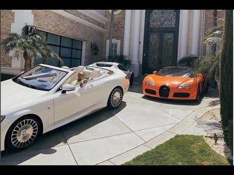 Tyga's 2018 Luxury Car Collection.
