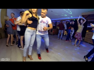 Aleks & Ksenia. Kizomba party - improvisation