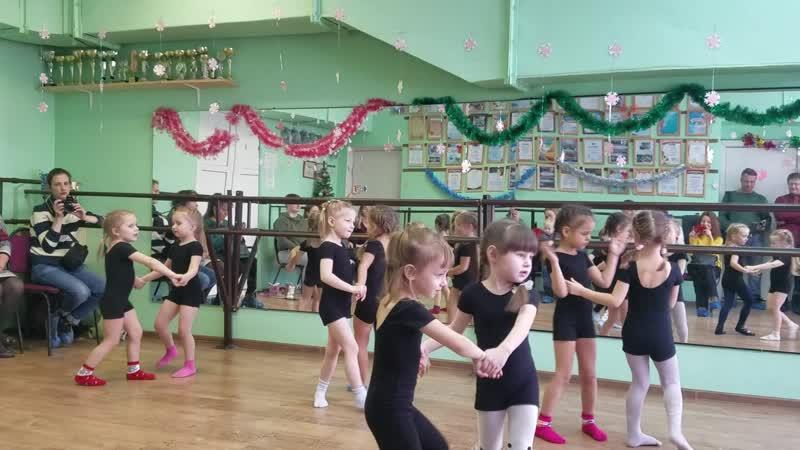 Открытый урок на танцах у Лерусика