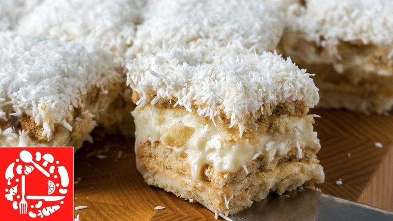 Торт Рафаэлло - рецепт без выпечки! Невероятно Вкусно! Новогоднее меню 2019