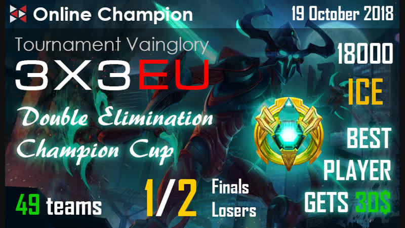 Vainglory RUS stream Online Champion Losers mesh 1 2 Ezidxan VS Rita Ota