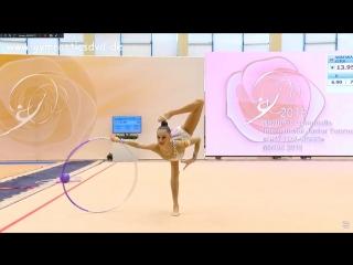 Дарья Трубникова - обруч (командное многоборье) // Международный турнир 2018, Минск