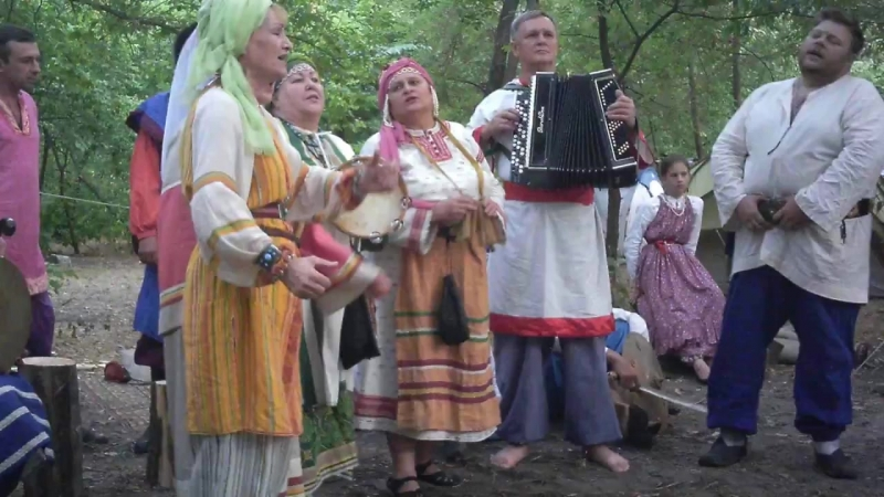 ВИК ''Казачья слава'' (г.Азов) на песенном конкурсе на фестивале ''Азовское сидение''.