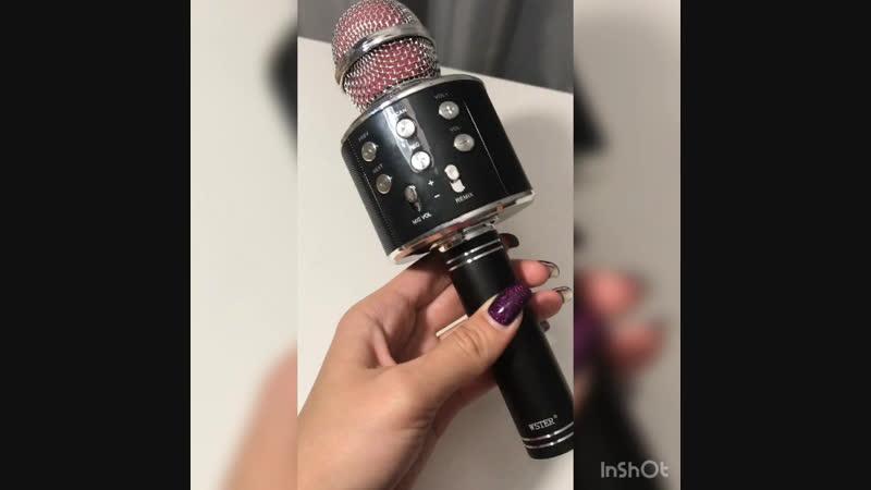 Микрофон стереоколонка