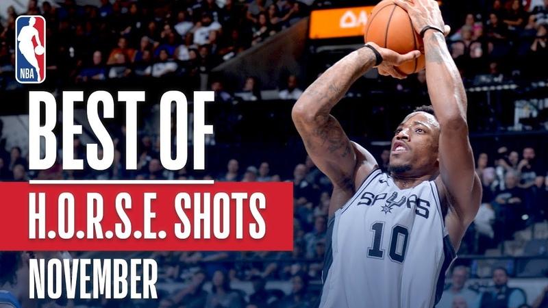NBAs Best H.O.R.S.E. Shots | November 2018-19 NBA Season