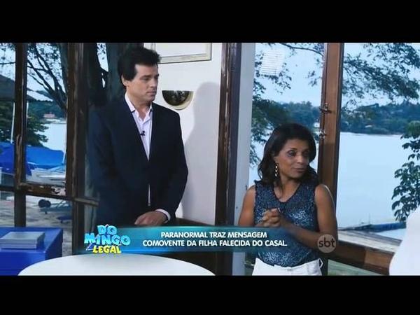 SBT Domingo Legal Os Paranormais detalhes de um crime 16/11/2014