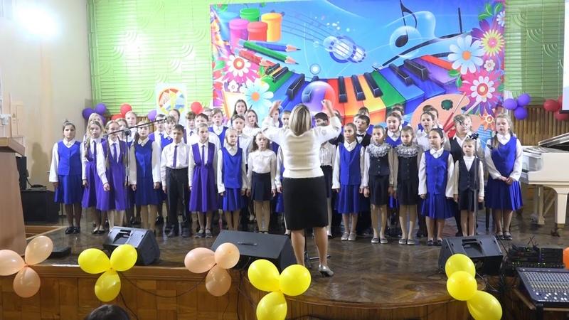 Хор ДШИ г.Арсеньева открыл заключительное мероприятие конкурса Герои Отечества