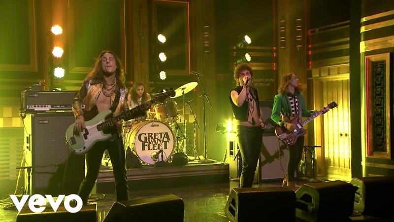 Greta Van Fleet When The Curtain Falls (Live On The Tonight Show Starring Jimmy Fallon)