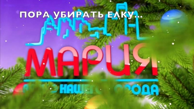 🎄 Когда пора убирать елку 🎧 Мария ФМ Киров 12