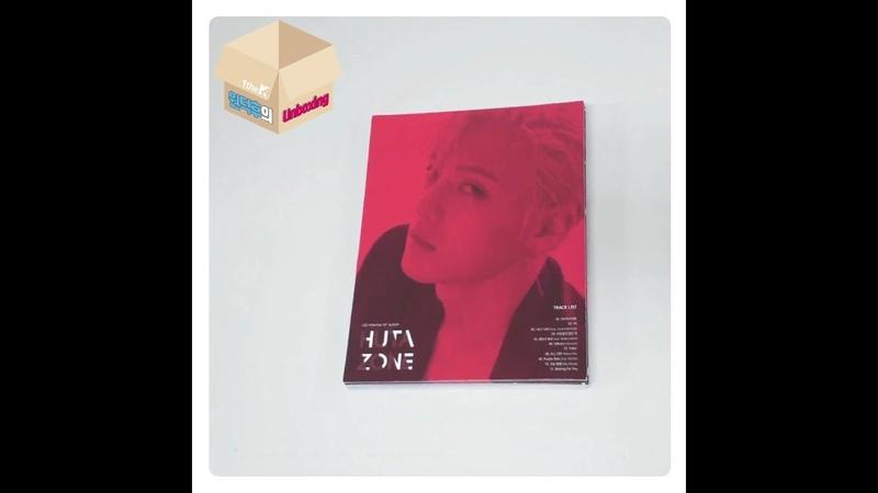 1theK Unboxing(원덕후의 언박싱): HUTA (LEE MINHYUK)(이민혁) _ 1st Album 'HUTAZONE'