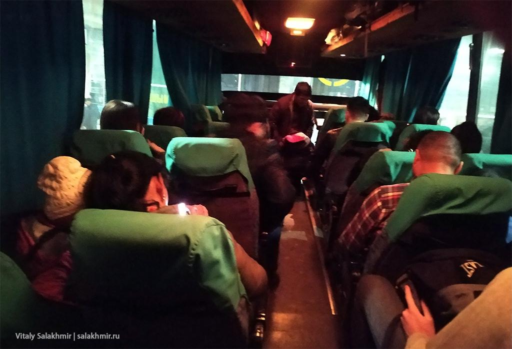 Автобус Алматы-Шымкент от Сайрана, 2019