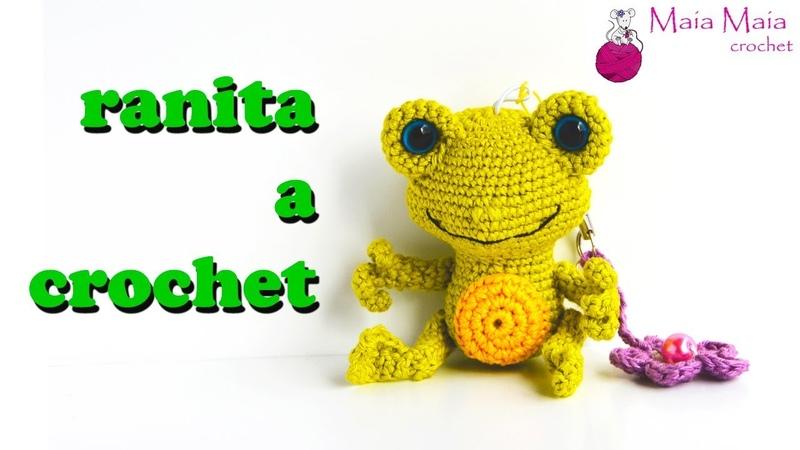 Ranita amigurumi a crochet parte 1