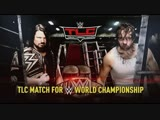 (WWE Mania) TLC 2016 Dean Ambrose vs AJ Styles(c) -- WWE Championship( Tables, Ladders &amp Chairs Match)