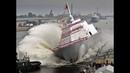 Аварии кораблей, на море тоже не все умеют рулить. Accident ships at sea, not everyone can steer.