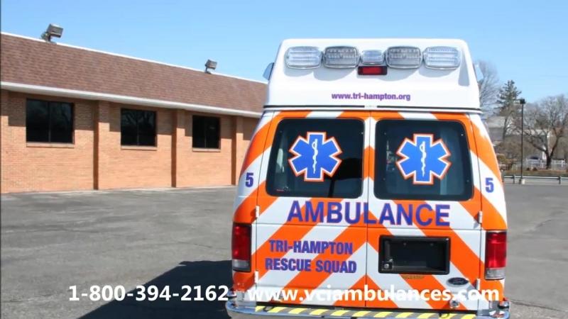 New Ambulance Delivery by VCI to Tri Hampton Rescue 2014 AEV K5 14QF18652G