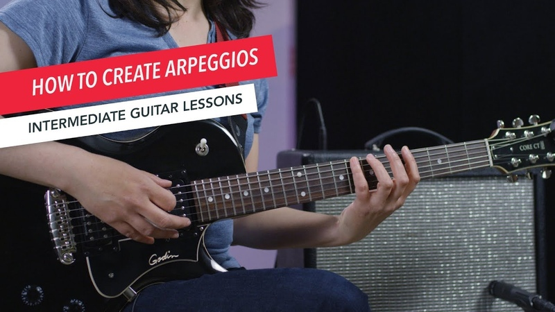 How to Play Guitar Intervals and Arpeggios Intermediate Guitar Lessons