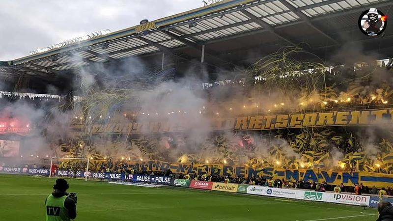 Tifo, Pyro BIF | Brøndby IF - FC København 04.11.2018