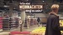 Новогодняя постановка в немецком супермаркете