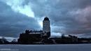 Timelapse. Утренние тучи над Выборгом. Morning clouds over Vyborg